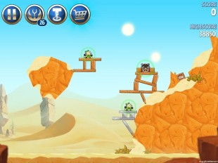 Angry Birds Star Wars 2 Escape to Tatooine Level B2-6 Walkthrough