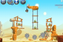 Angry Birds Star Wars 2 Escape to Tatooine Level B2-7 Walkthrough