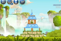 Angry Birds Star Wars 2 Naboo Invasion Level B1-1 Walkthrough