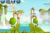Angry Birds Star Wars 2 Naboo Invasion Level B1-11 Walkthrough