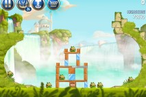 Angry Birds Star Wars 2 Naboo Invasion Level B1-13 Walkthrough