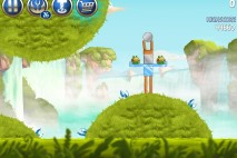 Angry Birds Star Wars 2 Naboo Invasion Level B1-14 Walkthrough
