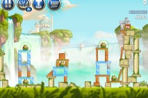 Angry Birds Star Wars 2 Naboo Invasion Level B1-15 Walkthrough
