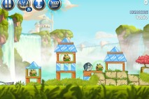 Angry Birds Star Wars 2 Naboo Invasion Level B1-2 Walkthrough