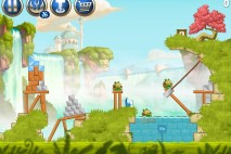 Angry Birds Star Wars 2 Naboo Invasion Level B1-4 Walkthrough