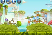 Angry Birds Star Wars 2 Naboo Invasion Level B1-7 Walkthrough