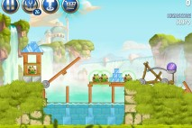 Angry Birds Star Wars 2 Naboo Invasion Level B1-8 Walkthrough