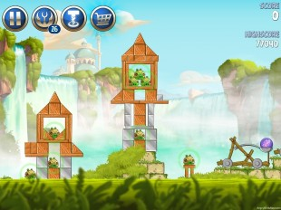 Angry Birds Star Wars 2 Naboo Invasion Level B1-9 Walkthrough