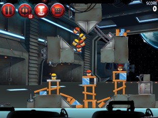 Angry Birds Star Wars 2 Naboo Invasion Level P1-S1 Walkthrough