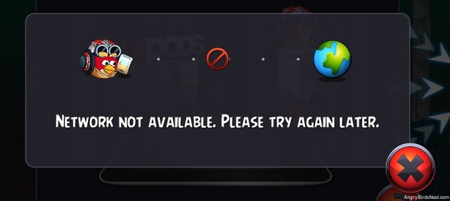 Angry Birds Star Wars 2 Telepods Network Not Available