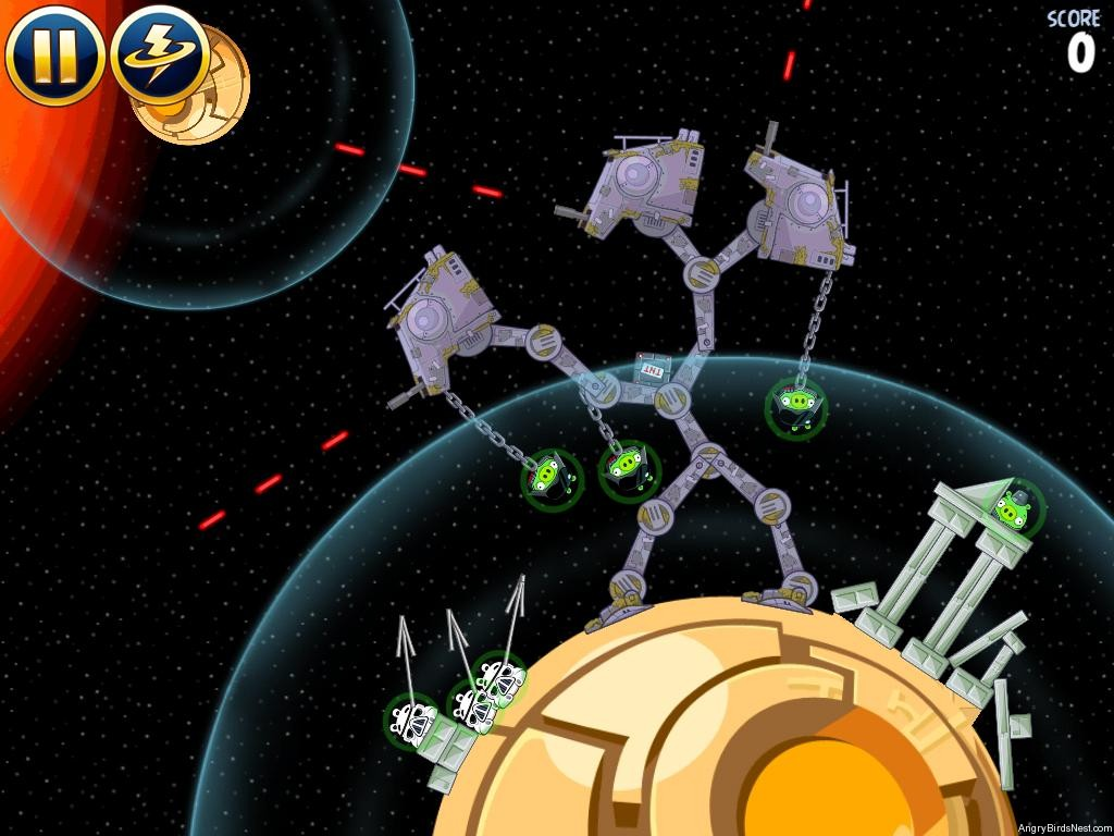 Angry Birds Star Wars Bonus Level 11 S 11 Walkthrough