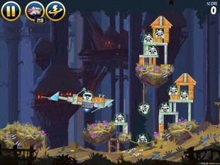 Angry Birds Star Wars Moon of Endor Level 5-10 Walkthrough