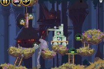 Angry Birds Star Wars Moon of Endor Level 5-11 Walkthrough