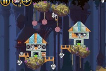 Angry Birds Star Wars Moon of Endor Level 5-12 Walkthrough