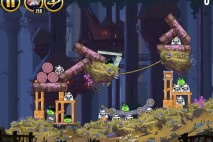 Angry Birds Star Wars Moon of Endor Level 5-13 Walkthrough