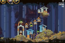 Angry Birds Star Wars Moon of Endor Level 5-14 Walkthrough