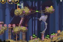 Angry Birds Star Wars Moon of Endor Level 5-15 Walkthrough