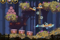 Angry Birds Star Wars Moon of Endor Level 5-19 Walkthrough