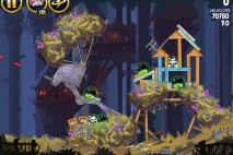 Angry Birds Star Wars Moon of Endor Level 5-21 Walkthrough