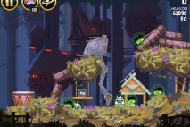 Angry Birds Star Wars Moon of Endor Level 5-23 Walkthrough