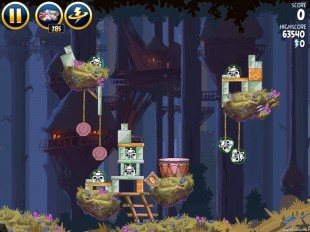 Angry Birds Star Wars Moon of Endor Level 5-24 Walkthrough