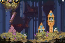Angry Birds Star Wars Moon of Endor Level 5-3 Walkthrough