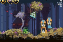 Angry Birds Star Wars Moon of Endor Level 5-4 Walkthrough
