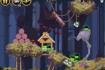 Angry Birds Star Wars Moon of Endor Level 5-5 Walkthrough