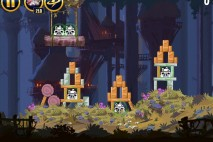 Angry Birds Star Wars Moon of Endor Level 5-6 Walkthrough