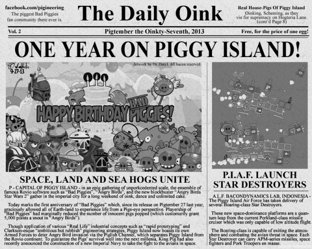 The Daily Oink Anniversary Edition