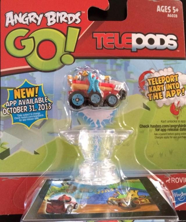 Angry Birds Go TELEPOD Release Date Leak