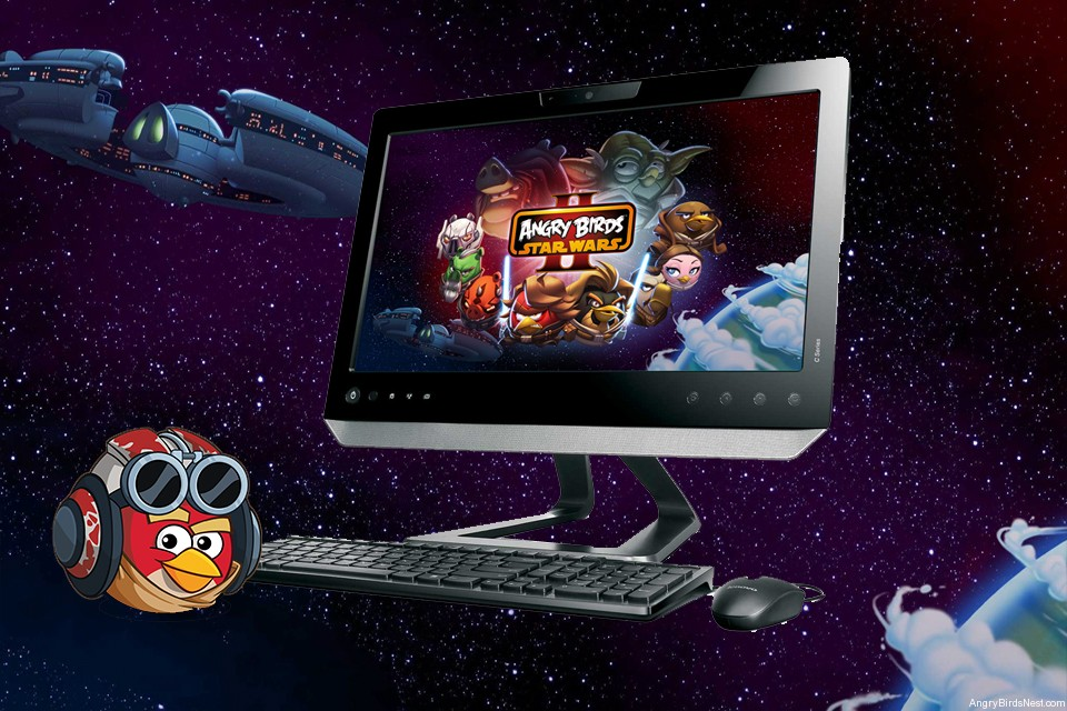 Angry birds star wars ii (pc dvd) new | arcade games.