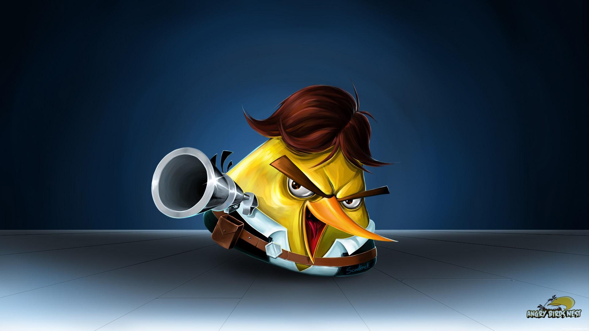 Angry Birds Star Wars Han Solo Desktop Wallpaper Alt Angrybirdsnest