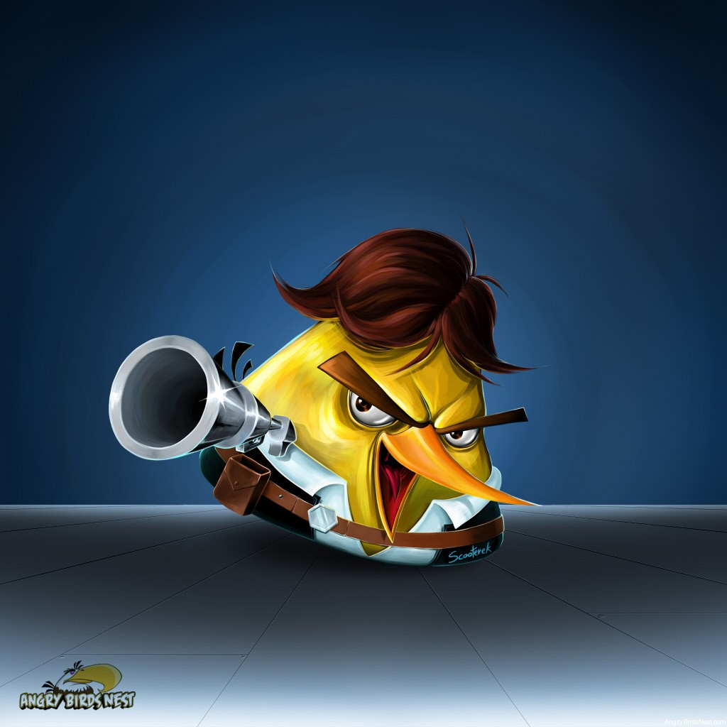 Angry Birds Star Wars Han Solo Ipad Wallpaper Alt Angrybirdsnest