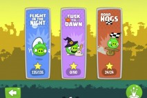 Bad Piggies Dusk Til Dawn Episode Selection Screen
