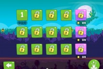 Bad Piggies Dusk Til Dawn Level Selection Screen