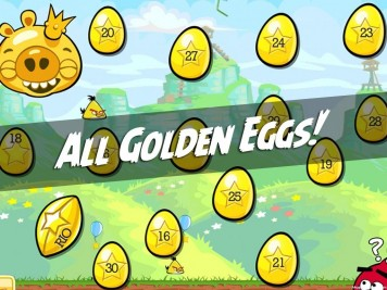 Angry Birds All Golden Eggs Featured Image