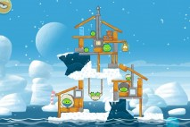 Angry Birds Seasons Arctic Eggspedition Level 1-10 Walkthrough