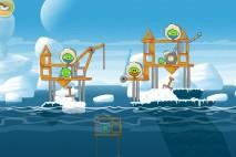 Angry Birds Seasons Arctic Eggspedition Level 1-11 Walkthrough