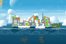 Angry Birds Seasons Arctic Eggspedition Level 1-12 Walkthrough