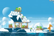 Angry Birds Seasons Arctic Eggspedition Level 1-13 Walkthrough