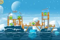 Angry Birds Seasons Arctic Eggspedition Level 1-14 Walkthrough