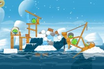 Angry Birds Seasons Arctic Eggspedition Level 1-15 Walkthrough