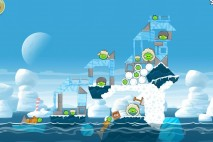 Angry Birds Seasons Arctic Eggspedition Level 1-17 Walkthrough
