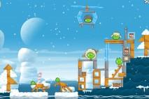 Angry Birds Seasons Arctic Eggspedition Level 1-18 Walkthrough