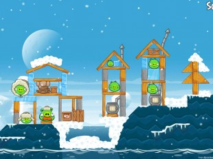 Angry Birds Seasons Arctic Eggspedition Level 1-19 Walkthrough