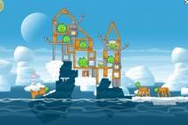 Angry Birds Seasons Arctic Eggspedition Level 1-21 Walkthrough