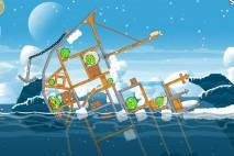 Angry Birds Seasons Arctic Eggspedition Level 1-22 Walkthrough