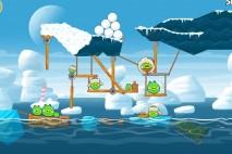 Angry Birds Seasons Arctic Eggspedition Level 1-23 Walkthrough