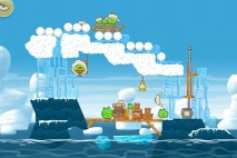 Angry Birds Seasons Arctic Eggspedition Level 1-24 Walkthrough